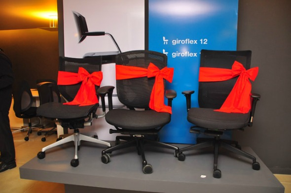 Cadeiras sorteadas para os convidados  Crédito: Bruna Monteiro/DP/D.A Press