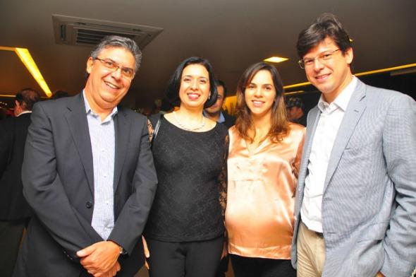 Carlos e Tânia Queiroz e Luciana e Urbano Vilela Crédito: Bruna Monteiro/DP/D.A Press