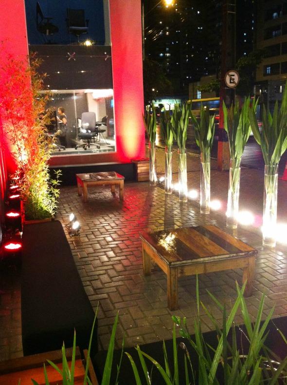 Lounge do lado de fora da loja Crédito: Laís Siqueira/DP/D.A Press