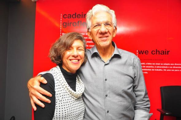 Tânia e Pedro Schwambach  Crédito: Bruna Monteiro/DP/D.A Press