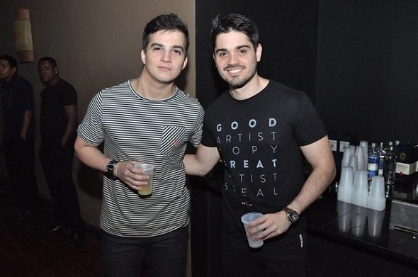 Lucas Mesquita e Guilherme Ruas - Crédito: Camila Neves/Divulgação