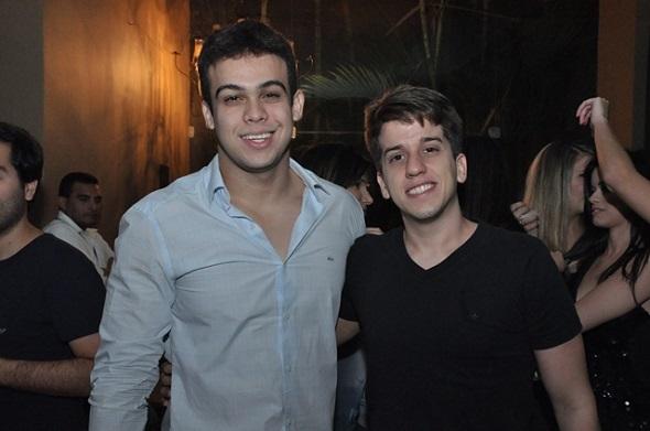 Thiago Wellk e Felipe Lucena - Crédito: Camila Neves/Divulgação