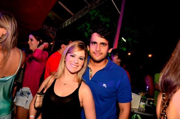 Fabiana Campos e Paulo Labanca Crédito: Guilherme Paiva/Go Images