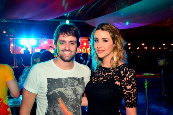 Jorge Peixoto e Bruna Monteiro Crédito: Guilherme Paiva/Go Images