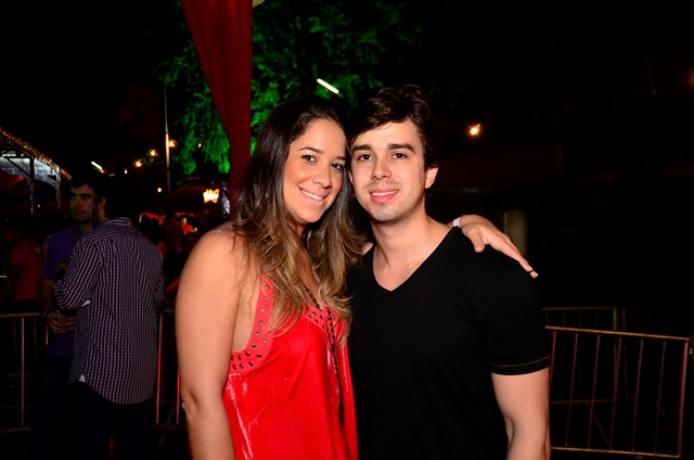 Renata Barroca e Rafael Lobo Crédito: Guilherme Paiva/Go ImagesCrédito: Guilherme Paiva/Go Images