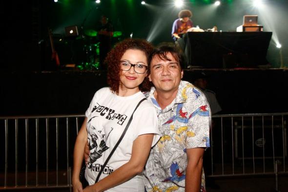 Claudia Aires e Pepe Jordão  Crédito: Arryela Lyra/Divulgação