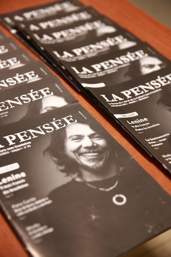 Revista La Pensée Crédito: Bernardo Dantas/DP/D.A Press