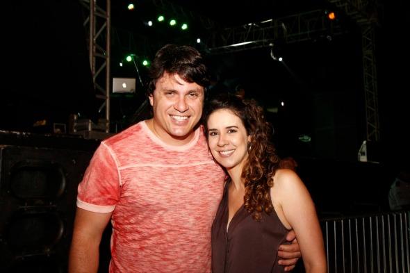 Thiago Figlioulo e Juliana Fernandes Crédito: Arryela Lyra/Divulgação
