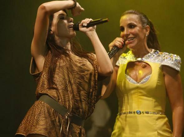 Anitta e Ivete Sangalo  Crédito Fred Pontes/Divulgação