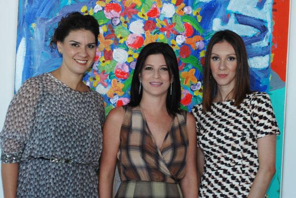 Jamine, Carla Bensoussan e Denise Tinôco – Crédito:Nando Chiappetta/DP/D.A Press