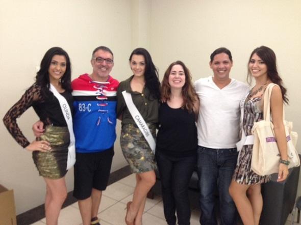 Candidatas Olinda, Camaragibe e Recife, Nestor Mádenes m Flávia Azevedo e Messias Campelo - Crédito: Divulgação