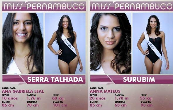 Crédito: Miss Pernambuco/Divulgação