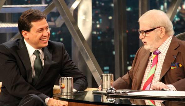 Gerson Camarotti e Jô Soares/TV Globo/Divulgação