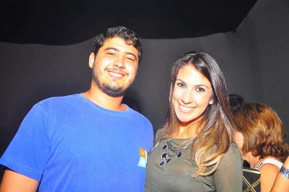 Thiago Sampaio e Rafaela Lucena - Credito: Bruna Monteiro DP/D.A Press