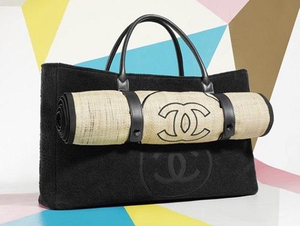 Bolsa De Praia Feita De Tecido : A bolsa de praia da chanel jo?o alberto
