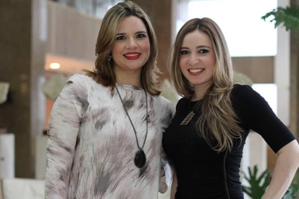 As fisioterapeutas Carol Florêncio e Flávia Veras - Crédito: ricardo Nascimento