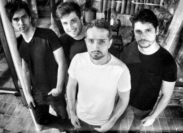 Banda Amsterdam -  Crédito: Rian Lins / Divulgação