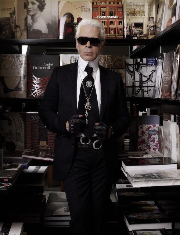 Karl Lagerfeld - Crédito: Reprodução http://www.karl.com/