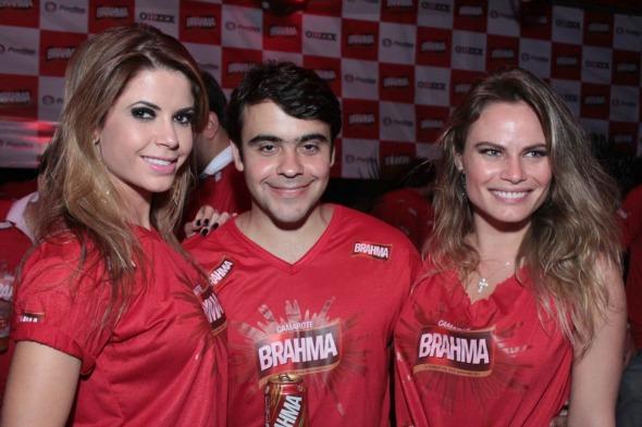 A ex-BBB Cacau Colluci, Marcio Aguiar e Natalia Cassassola  Luiz Fabiano/ Divulgação