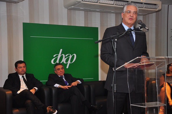 Orlando Marques, presidente nacional da Abap, participou da posse - Crédito: Bruna Monteiro/D.P./D.A Press.