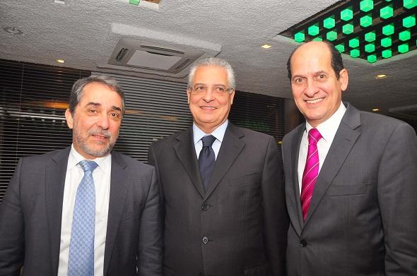 Guilherme Machado, Orlando Marques e Queiroz Filho - Crédito: Bruna Monteiro/D.P./D.A Press.