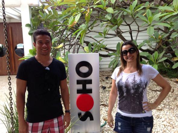 Luiz Mendes e Juliana Cavalcanti. Crédito: Arquivo pessoal / Divulgação