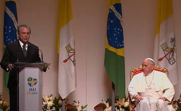 O discurso de despedida de Michel Temer/Ag. Brasil