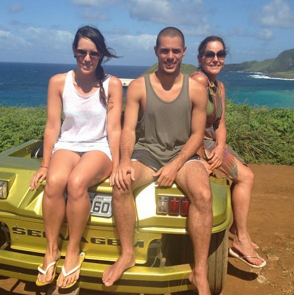Marcela, Rodrigo e Renata Ceribelli Crédito: Reprodução/Instagram