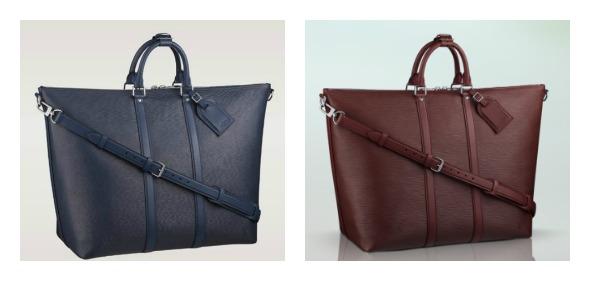 Bolsas masculinas Crédito: Louis Vuitton/Divulgação