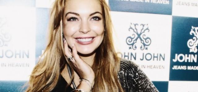 Lindsay Lohan Crédito: Reprodução/lindsaylohan.com.br