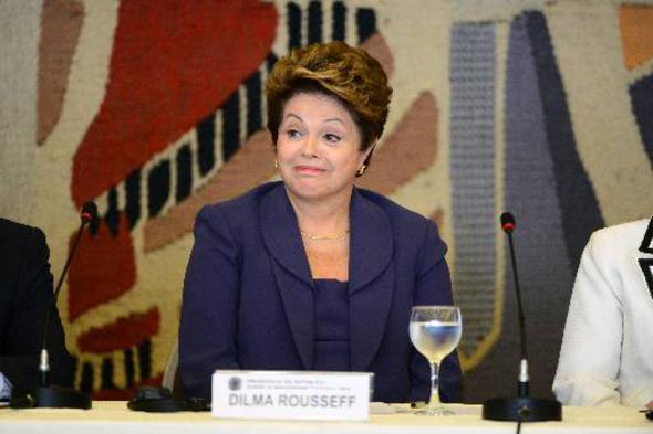 Dilma Rousseff. Crédito: Ronaldo de Oliveira / CB / D.A Press