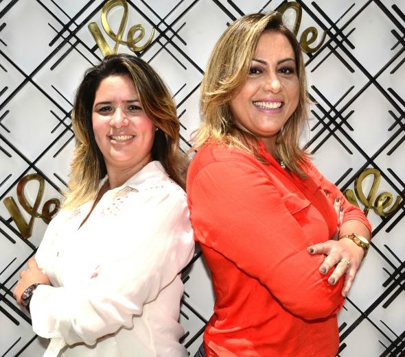 Cecyara Costa e Rita Peixoto Crédito: Divulgação/Velvet
