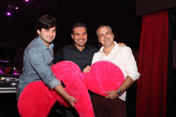 Os sócios da Pink Elephant,  Rodrigo Carvalheira,José Paulo Cavalcanti Neto e João Didier - Crédito: Nando Chiappetta/DP/D.A Press