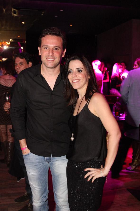 Augusto Acioli e Ana Cláudia - Crédito: Nando Chiappetta/DP/D.A Press
