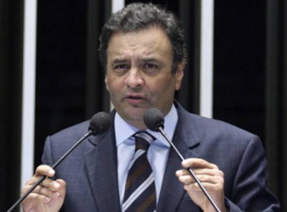 Aécio Neves/Ag; Senado