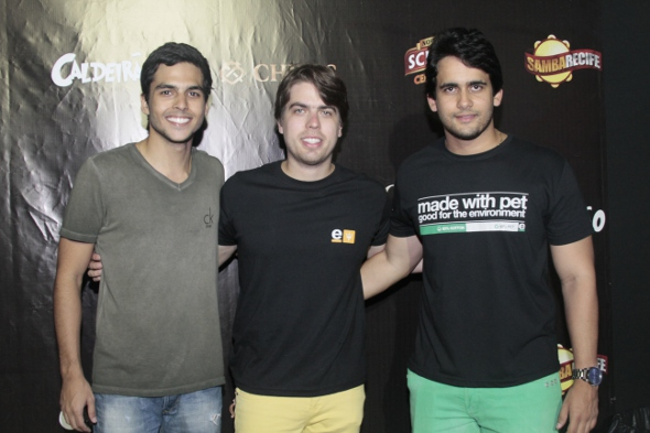 Vitor Dias, Ciro Couceiro e Paulo Labanca