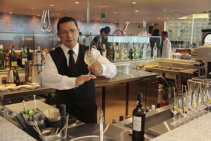 Drinks especiais no bar do restaurante - Crédito: Gleyson ramos/Divulgação