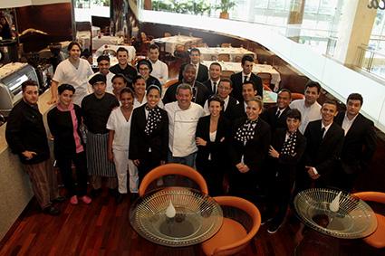 O chef trouxe 10 profissionais de Portugal. A casa tem 39 funcionários - Crédito: Gleyson Ramos/Divulgação