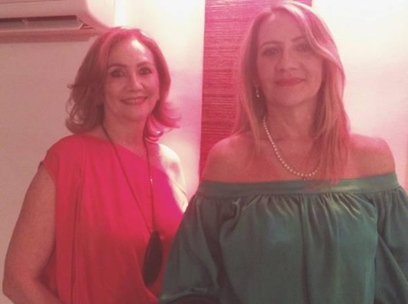 Cecile Aubry e Cilene Aubry - Foto: Cortesia