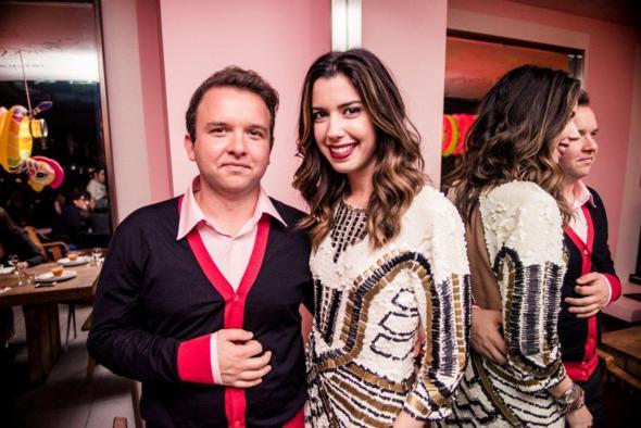 Victor Souza e Camila Coutinho. Crédito: Index / Divulgação