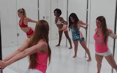 Pole dance/TV Globo/Divulgação
