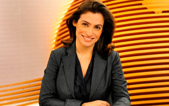 Renata Vasconcelos/TV Globo/Divulgação