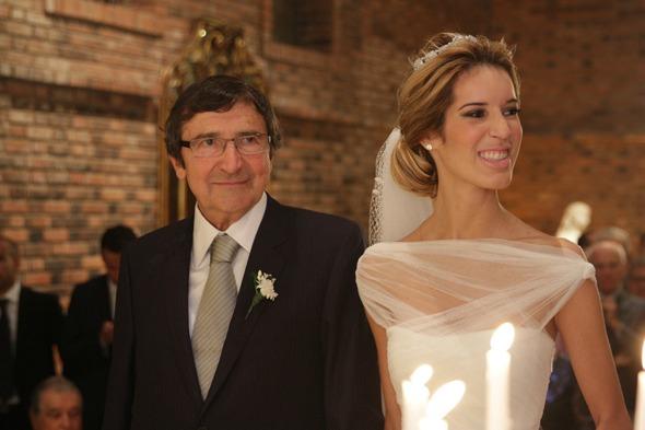 Os noivos José Luiz e Taciana  Crédito: Roberto Ramos/DP/D.A Press