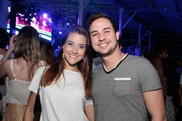 Eduarda e Leozinho Fernandes - Foto: Duda Carvalho/Innovo Comunicação
