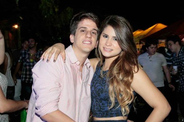 Felipe Lucena e a namorada Eduarda - Foto: Duda Carvalho/Innovo Comunicação