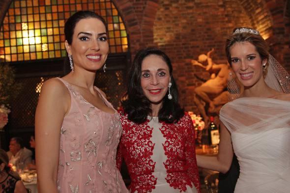 A noiva com amigas