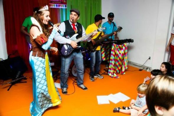 Tio Bruninho anima o piquenique do Vila 7 Crédito: Divulgação/Tio Bruninho