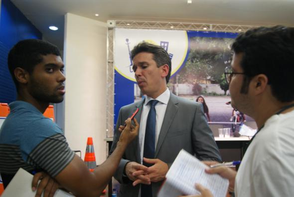 Felipe Carreras contou, hoje, os detalhes à imprensa. Crédito: Laís Siqueira / DP / D.A Press
