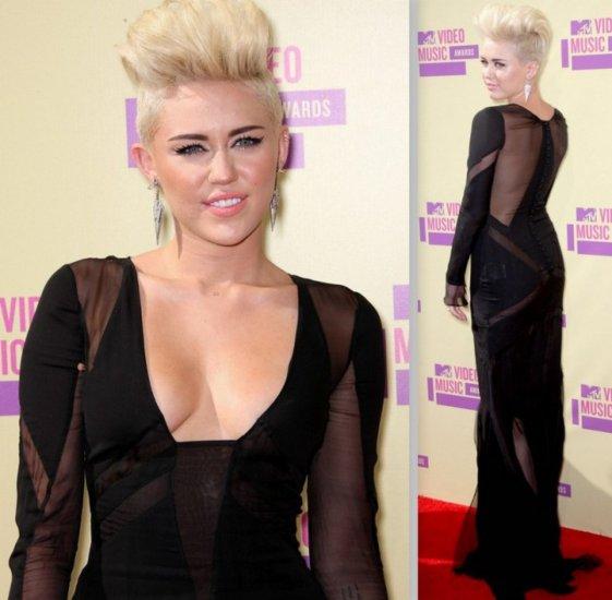 Miley Cyrus ícone da tendência este ano - Foto: Site Cabelso Famosos/Reprodução