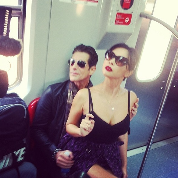 Perry Farrel e Etty Lau Farrell - Crédito: Reprodução Facebook Lollapalloza